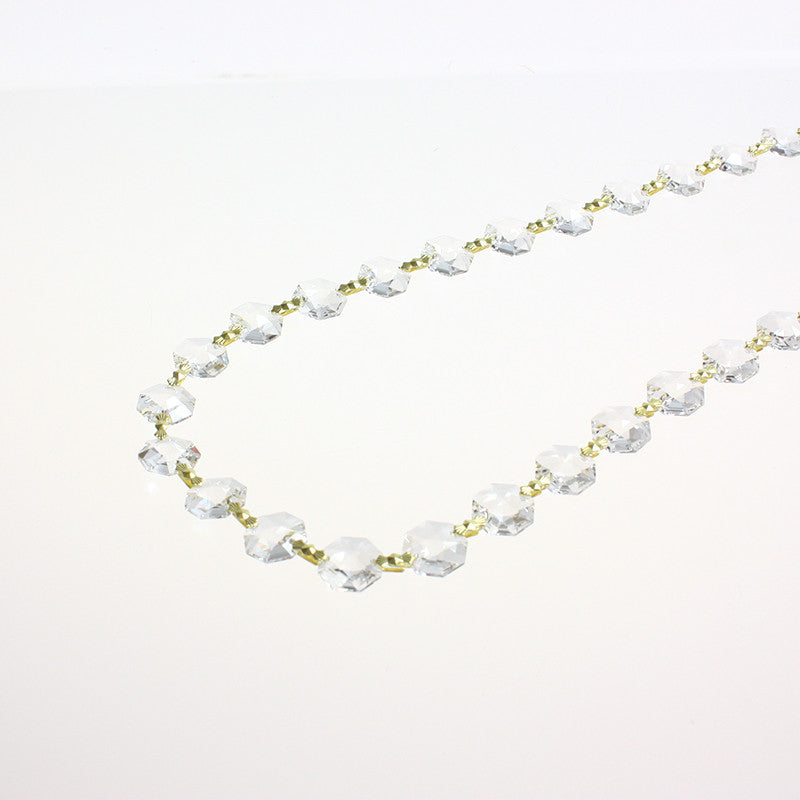 SWAROVSKI STRASS®<BR> 14mm Chain, 1 Meter (Brass or Chrome)