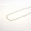 SPECTRA CRYSTAL 14mm 1-Meter Clear Chain (Brass or Chrome)
