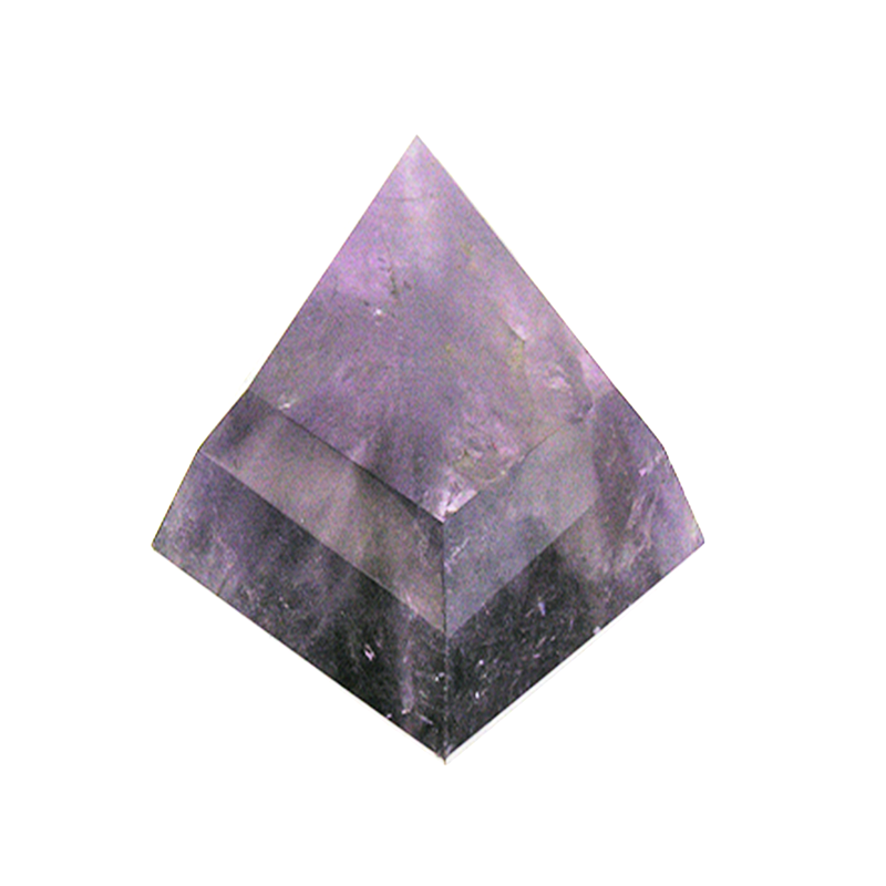 Amethyst Kite Rock Crystal