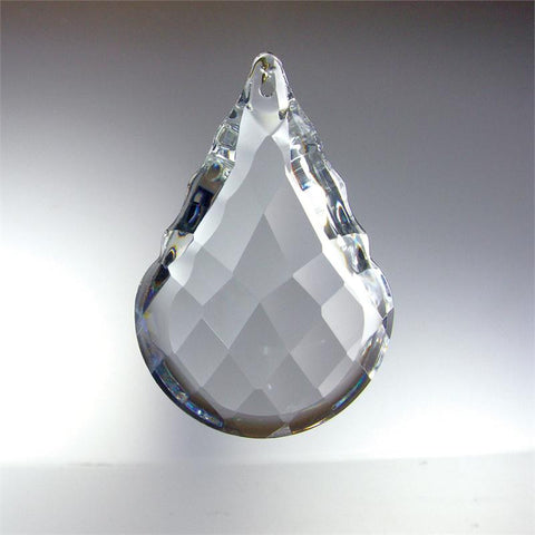 ASFOUR 30% Lead Crystal Round Bottom Pendalogue <br> (4 sizes)
