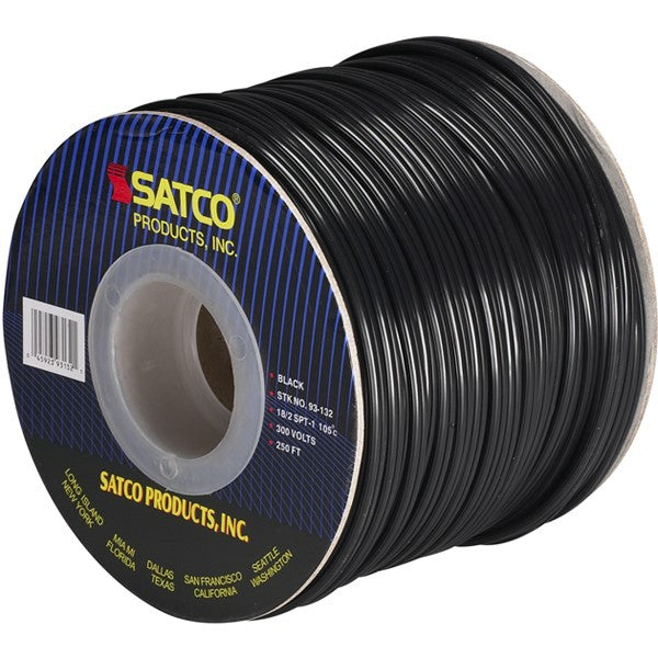 Black 250 ft. Spool Electrical Wire