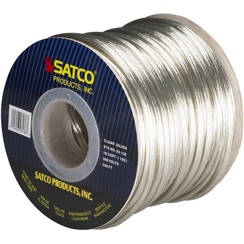 Clear Silver 250 ft. Spool Wire
