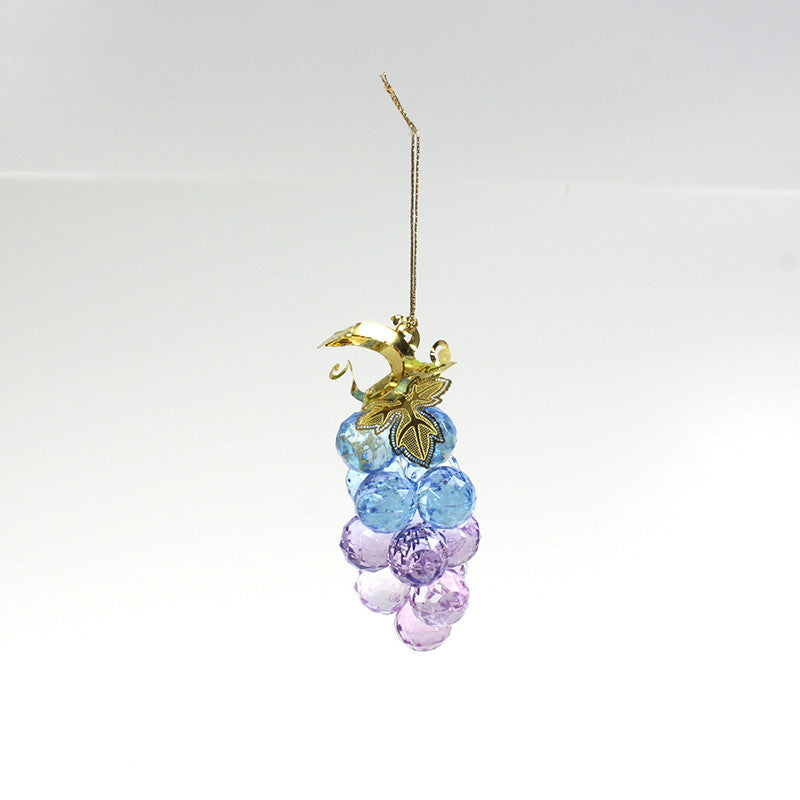 Colorful Acrylic Grape Cluster