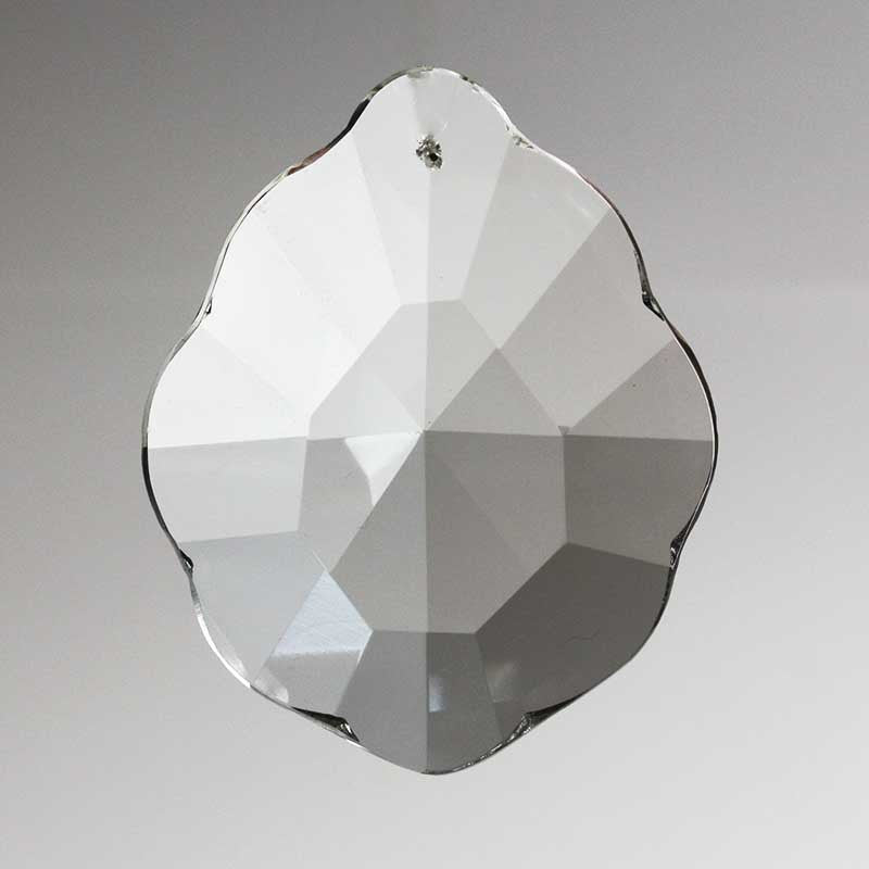 Large Leaded 8-Point Crystal Prism <br> (3 sizes)