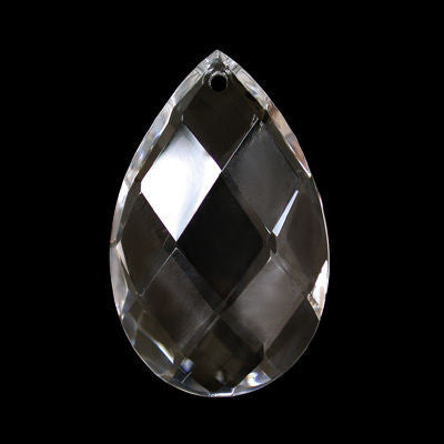 4 INCH CRYSTAL ALMOND TURKISH HAND CUT W/ 30% LEAD