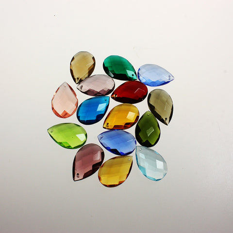 31mm (1-1/4 inch) Teardrop (Pack of 12)<br> (16 Colors)