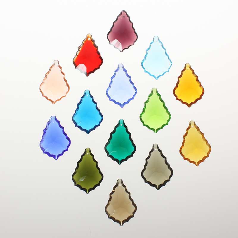 50mm Czech Pendalogue Hand Cut <br> (15 Colors)