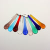 2 Inch Smooth Murano Raindrop <br> (10 Colors)