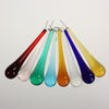 4 Inch Smooth Murano Raindrop <br> (8 Colors)