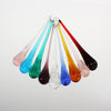 6 Inch Rippled Murano Raindrop <br> (9 Colors)