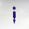 2.5 in Hand-cut Notched Pointed Spear w/ Octagon <br> (7 colors)