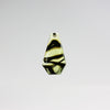 25mm 2 Tone Antique Cut Pendant <br> (10 Colors) Pack of 12