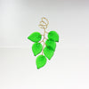 6 18 X 13mm Czech Leaves Wired Together  <br> (15 Colors)