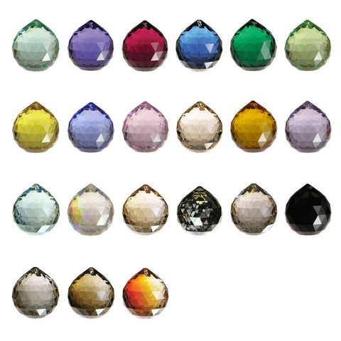 SWAROVSKI STRASS®<bR>40mm Colored Balls (17 colors)