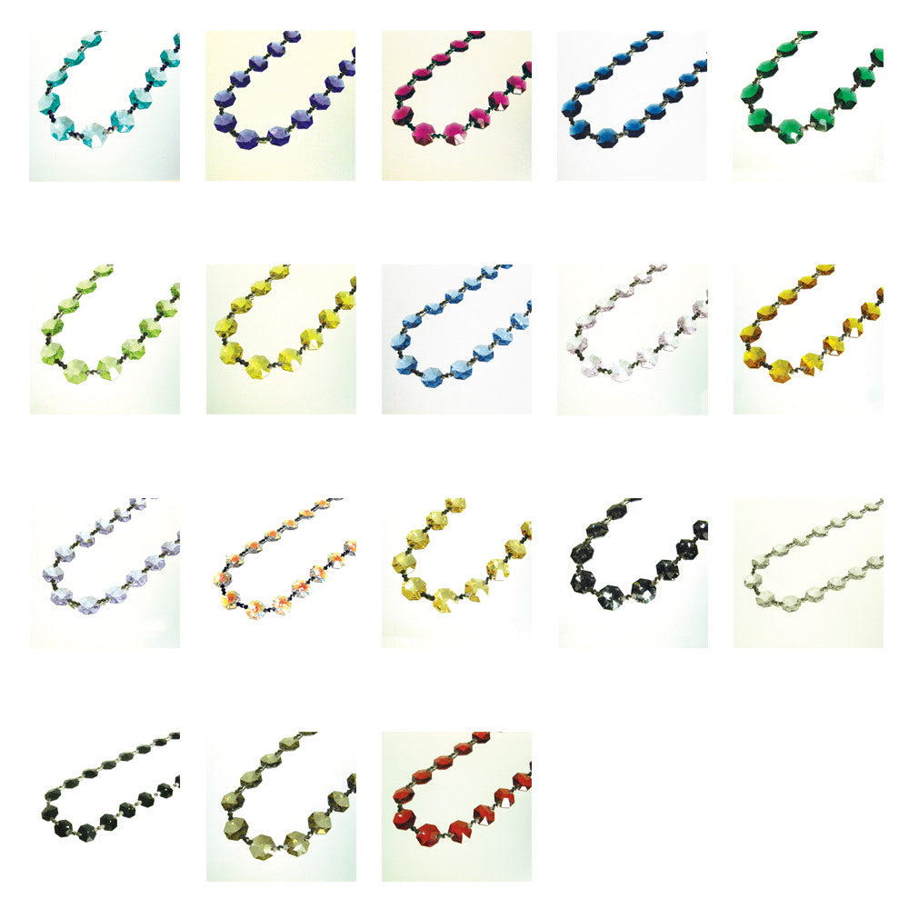 SWAROVSKI STRASS®<BR>1-Meter 14mm Colored Chains (22 colors)