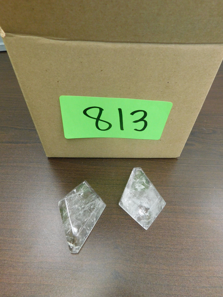 Box of 5 75mm Rock Crystal Kite Prisms