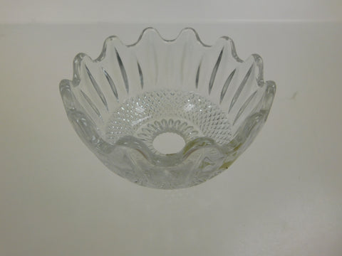"4 1/2"" Leaded Crystal Bowl"