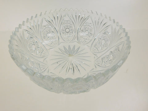 "8"" Decorative Glass Bowl"
