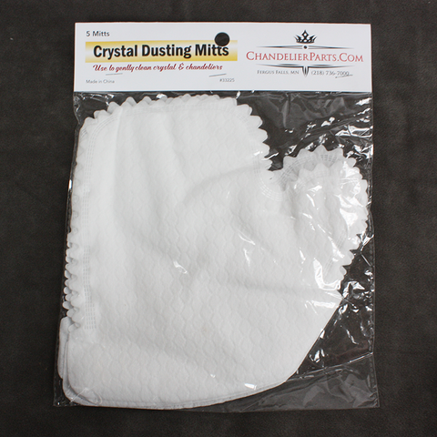 Crystal Dusting Mitts (Pack of 5)