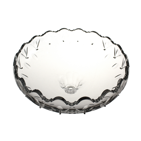 "10"" Cut Crystal Bowl<br>18 pin"