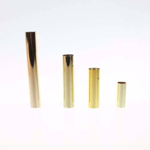 Gold Metal Candle Covers (off sizes)