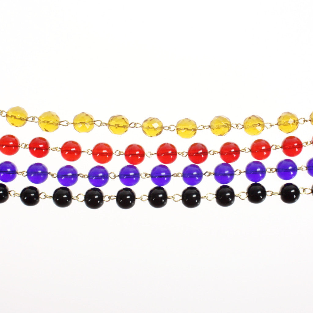SPECIAL BUY: Colored 10mm Meter Length Chains (4 colors)