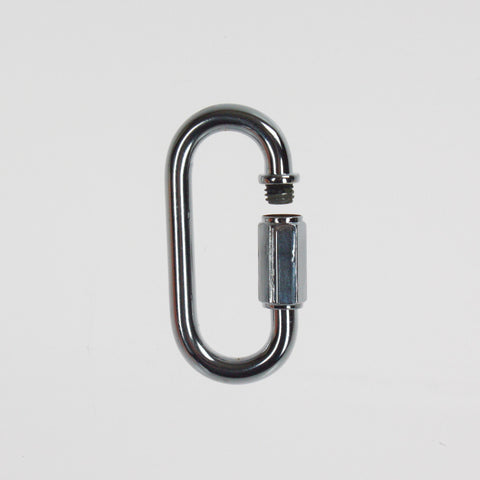 "2-1/4"" Chrome Opening Chain Link"