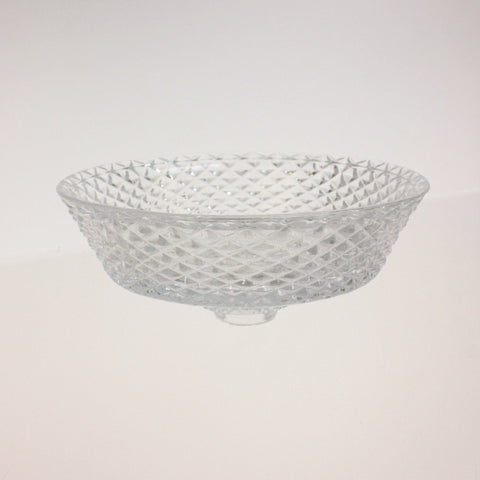 "6-1/4"" Beautiful Cut Bobeche/Bowl<br>(No pin)"