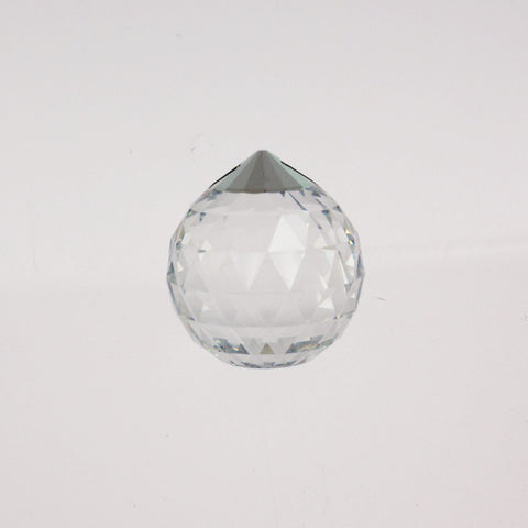 40mm SWAROVSKI STRASS® Clear Ball w/ silver top