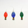 Silicone Dipped Colored Bulb, cb<br>(Box of 6) 3 colors