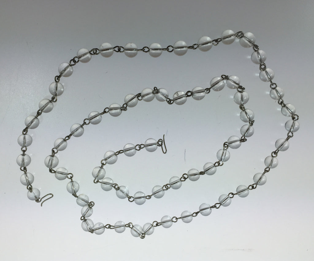 "SPECIAL : 36"" 8mm Round Bead Chain, chrome pin"