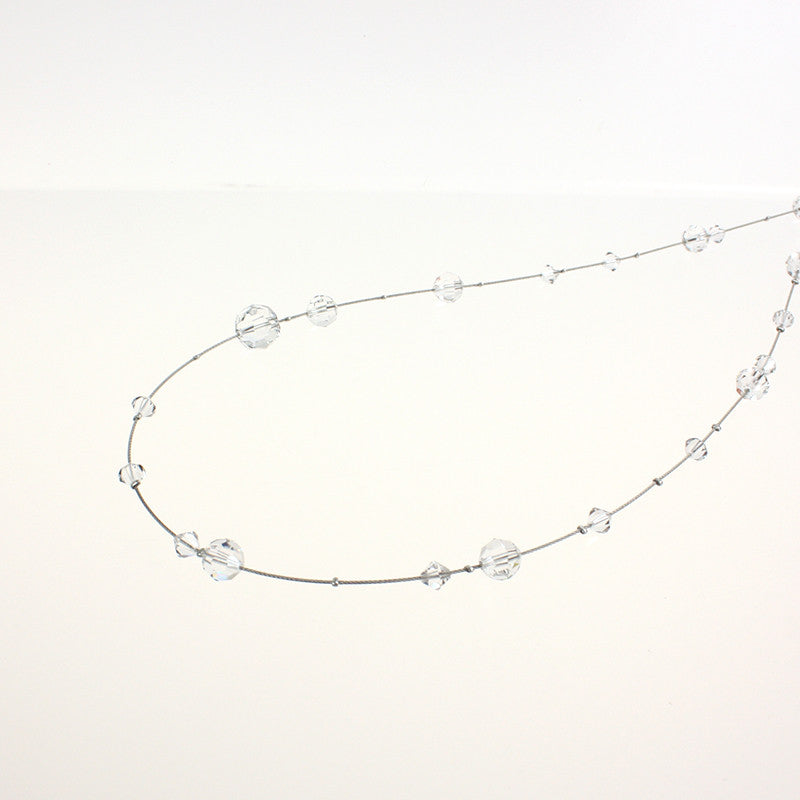 "SWAROVSKI STRASS® Faceted Bead Crystal Strand (60"")"