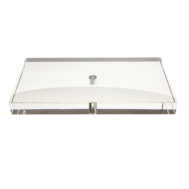 Crystal Rectangle Base (260mm x 140mm) Case of 4