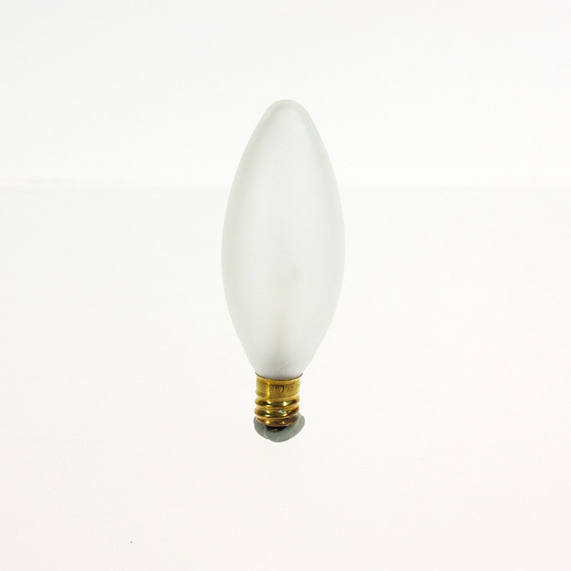 Frosted Torpedo Bulb, cb<br> (Box of 25) 3 wattages