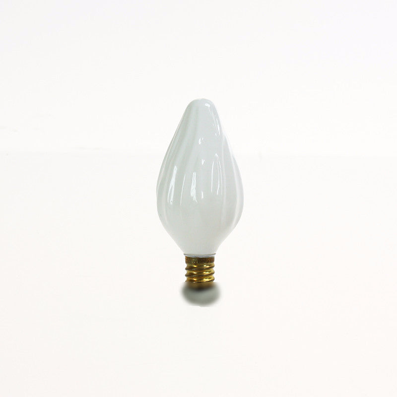 Flame Colored Bulb, cb<br>(Each) White, Amber or Aurora