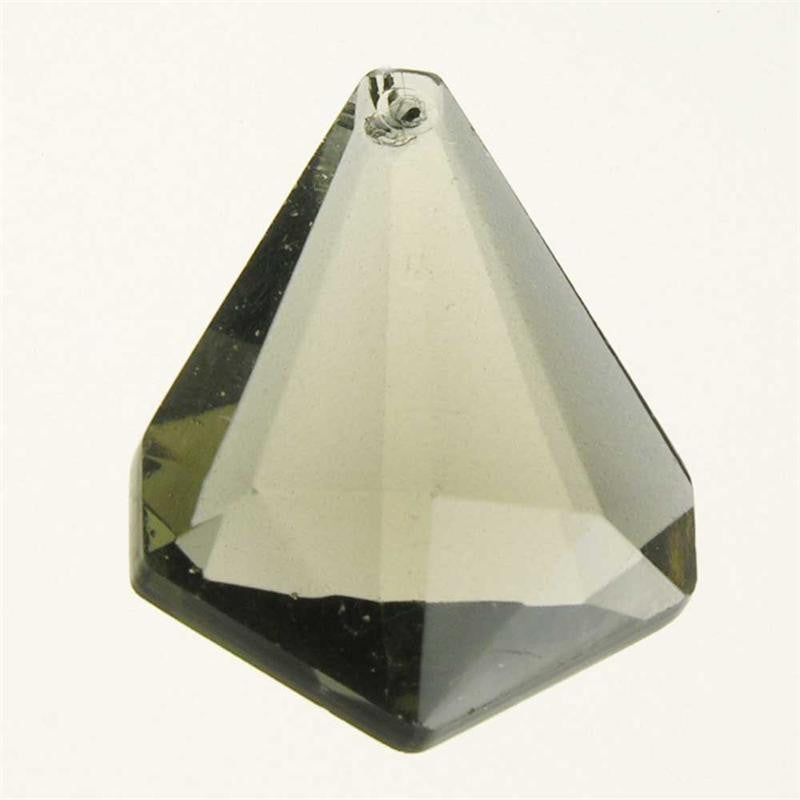 "2"" Smoke Triangular Plug (no bead)"