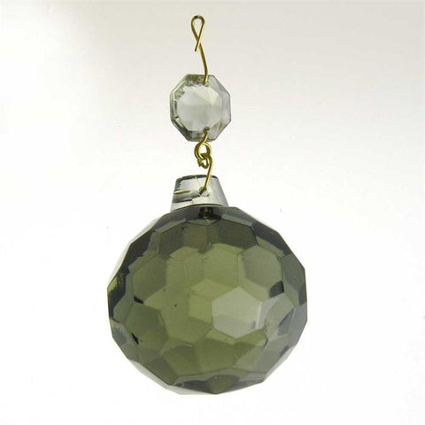 "50mm (2"") Smoke Faceted Ball"