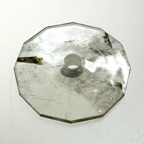 80mm Rock Crystal Bobeche<br>No pin