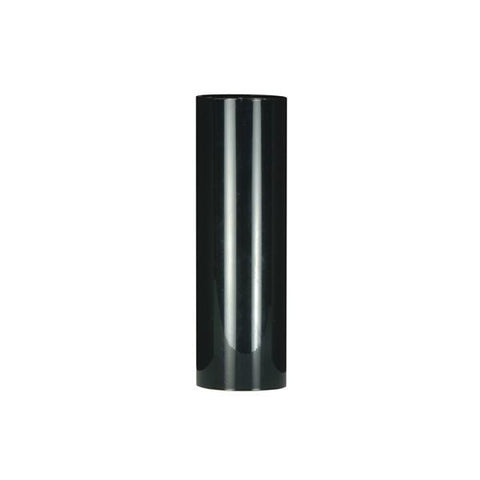 "4"" Black Plastic Candle Cover (cb or medium base) Pack of 12"