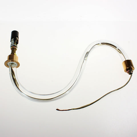 Fluted S Arm with wiring and socket (Several sizes)