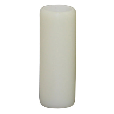 Ivory Resin Candle Cover (2 sizes) medium base