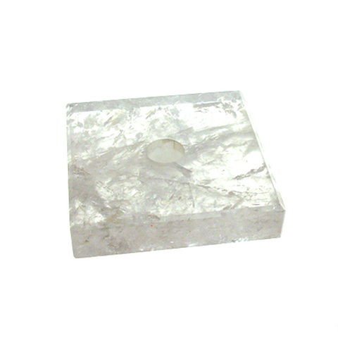 Clear Square Base Rock Crystal (5 sizes)