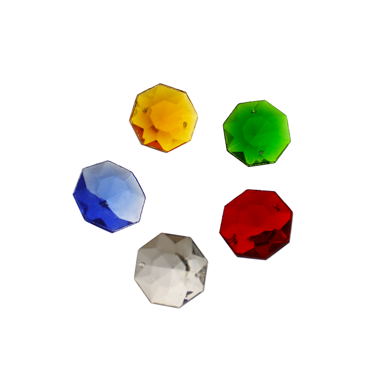 West German Colored Octagon (5 colors)
