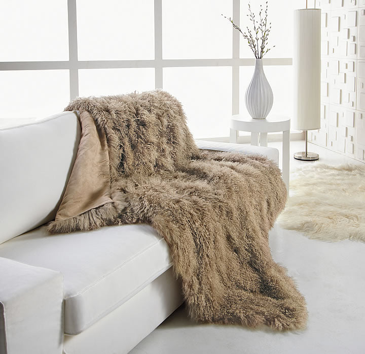 Modern Elegance Tibetan Throw