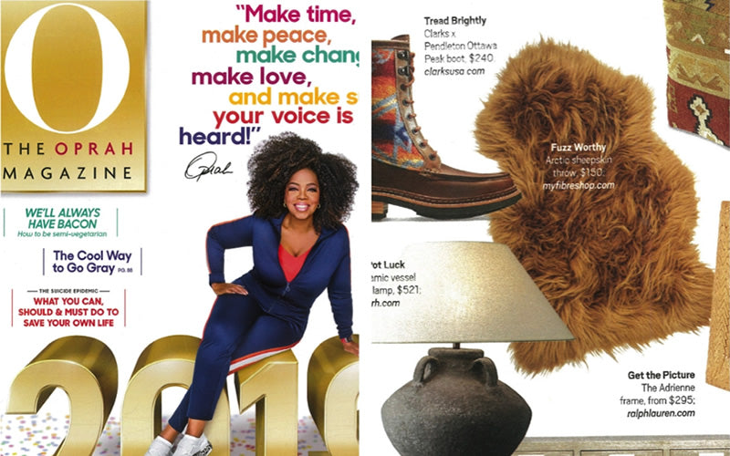 Fibre by Auskin in The Oprah Magazine