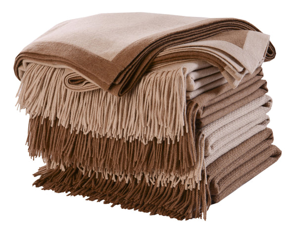 Camel Hair Throws