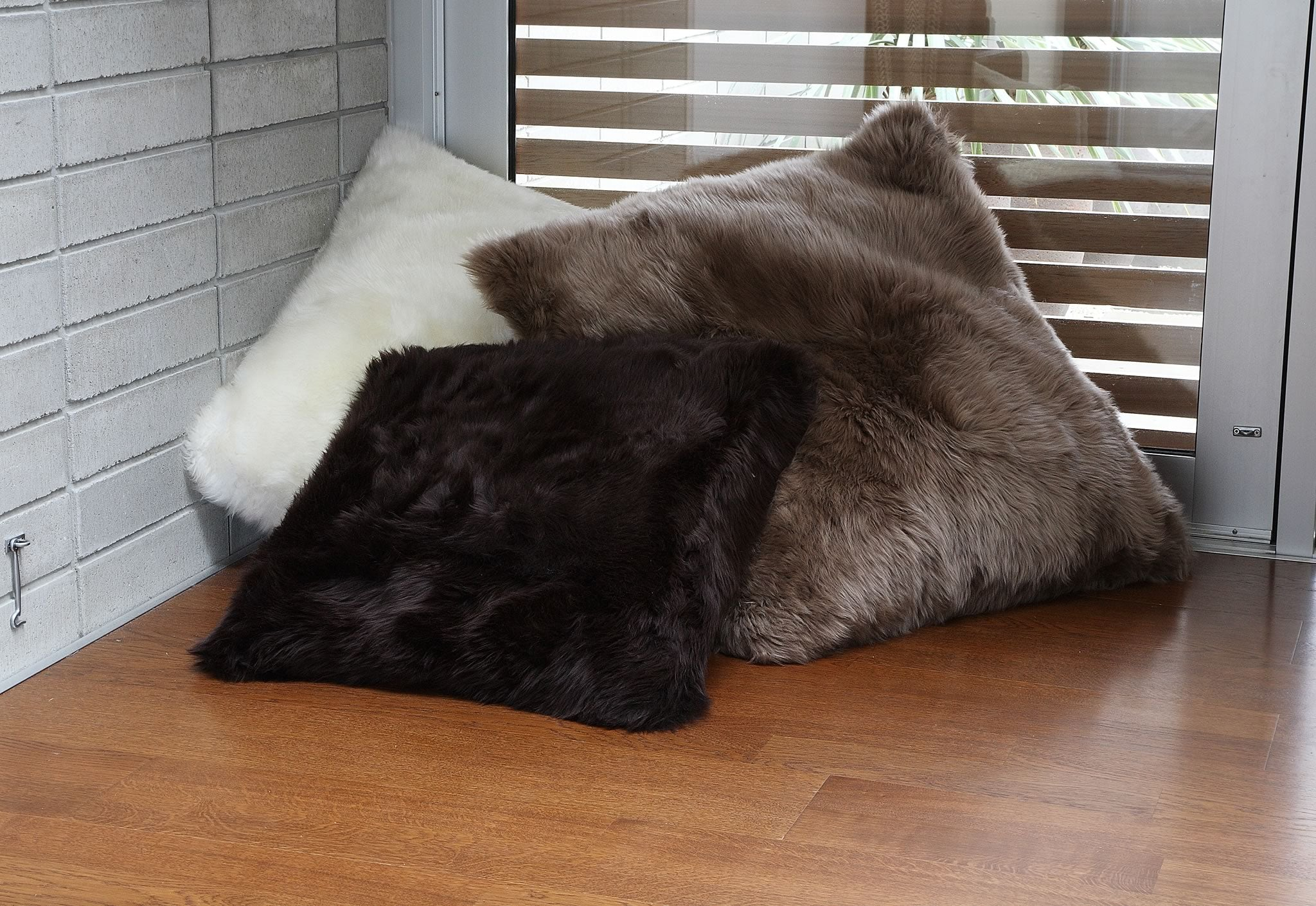Longwool Sheepskin Pillows