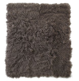 Portabello Tibetan Sheepskin Throw