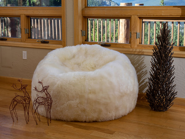 Sheepskin Bean Bag