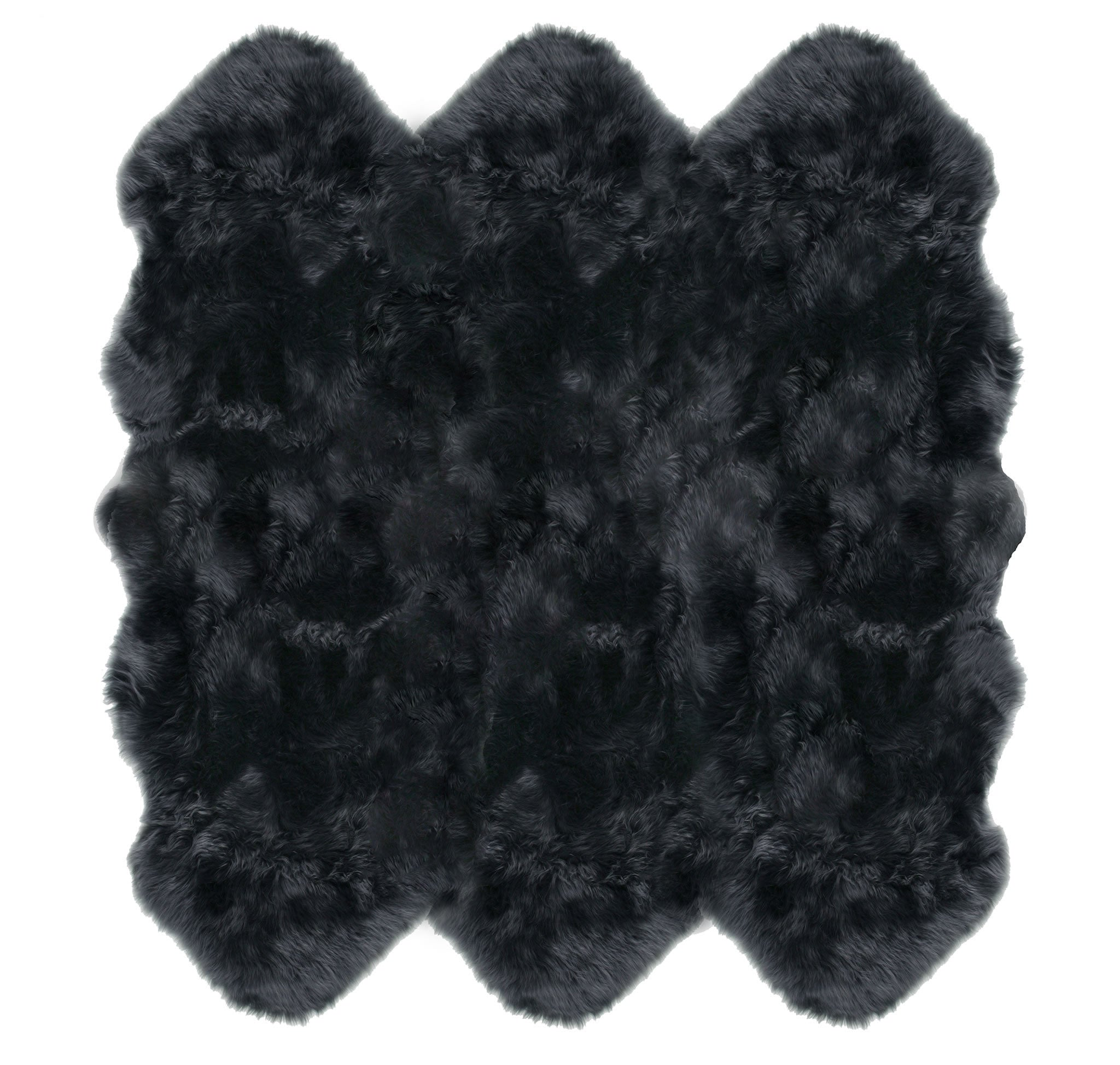 Steel Sexto Sheepskin Rug